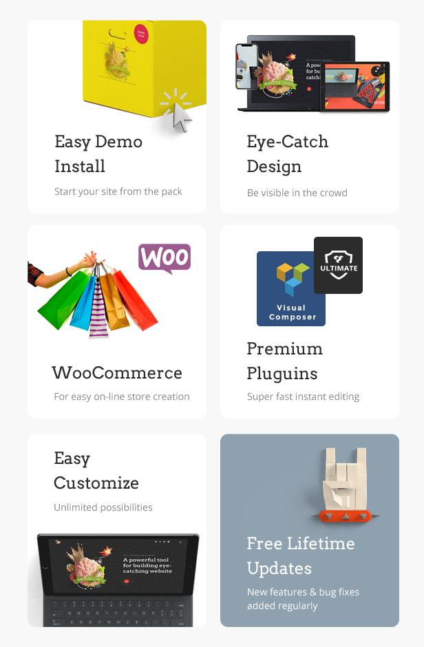 Whakaaro   Multi-Concept & One Page WordPress Theme - 2