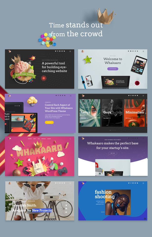 Whakaaro   Multi-Concept & One Page WordPress Theme - 3